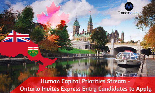 Human Capital Priorities Stream - Ontario invites Express Entry Candidates to Apply