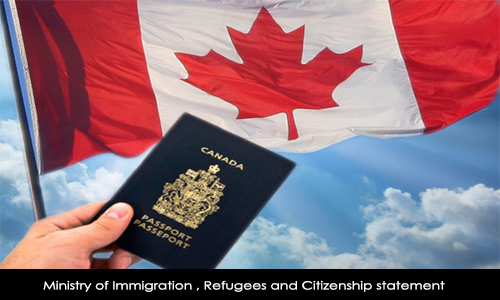 Ministry of Immigration , Refugees and Citizenship Statement