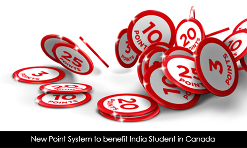 New Point System to benefit India Student in Canada