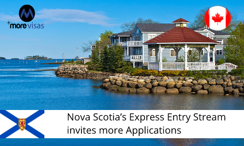 Nova Scotia's Express Entry Stream Invites more Applications