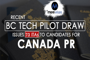 Recent BC Tech Pilot Draw Issues 73 ITAs to Candidates for Canada PR
