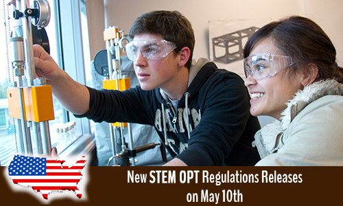 New STEM OPT Regulations Releases on May 10th