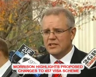 Australian Immigration Minister Dwells on Suggested Reforms to 457 Visa Scheme