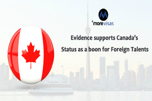 Evidence Supports Canada's Status as a boon for Foreign Talents