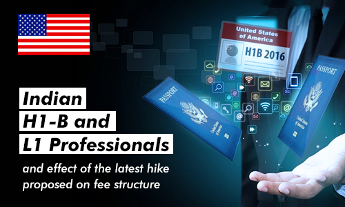Indian H1-B and L1 Professionals and Effect of the Latest Hike