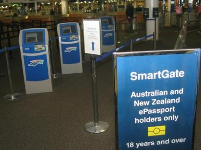 SmartGate facilities at the airports of Australia